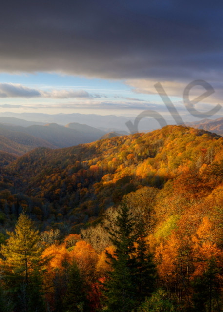 7294 5 6 Fall Mtn Near Clingmans Art | Cunningham Gallery