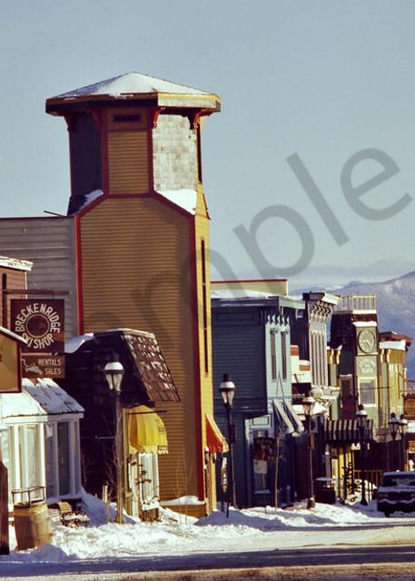 Breckenridge,Colorado Main Street around 1980