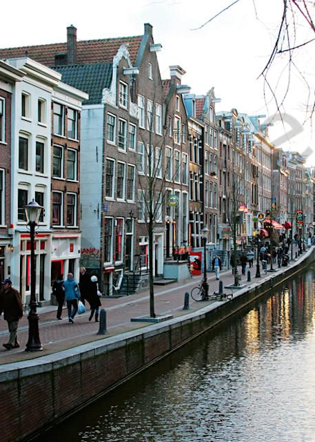 Amsterdam Red Light District Art | Cunningham Gallery