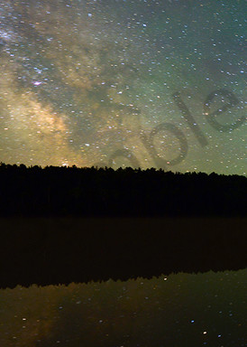 Lake Fanny Hooe And The Milky Way Photography Art | Robert Jones Photography