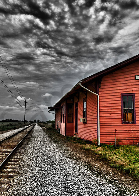 Amana Station No. I Photography Art   Robert Jones Photography
