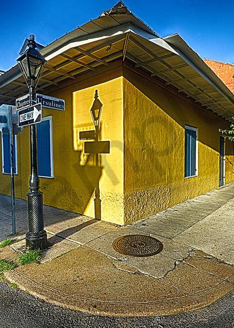 Yellow Corner Photography Art | Robert Jones Photography