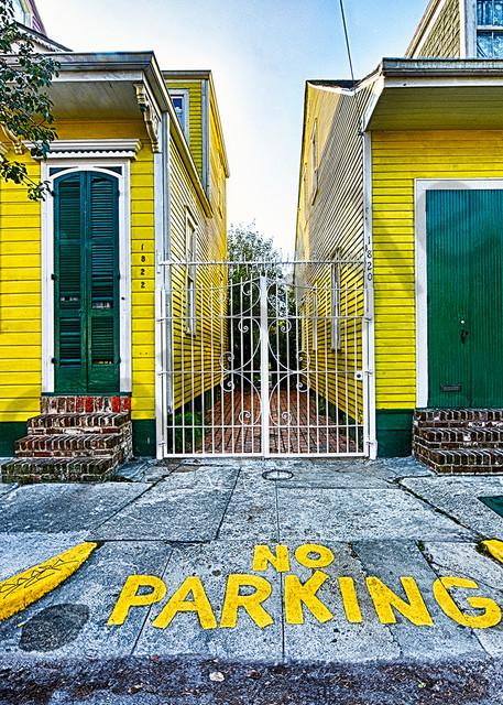 No Parking Photography Art | Robert Jones Photography