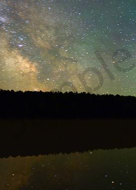 Lake Fanny Hooe And The Milky Way   Trip Tych Photography Art | Robert Jones Photography