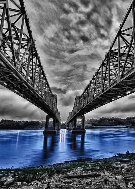 Bridge To Natchez  Photography Art   Robert Jones Photography