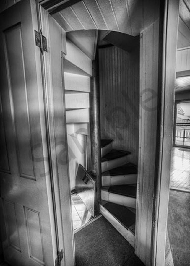Lighthouse Stairs Photography Art | Robert Jones Photography