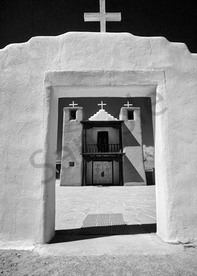 Taos Church No. Ii Photography Art | Robert Jones Photography