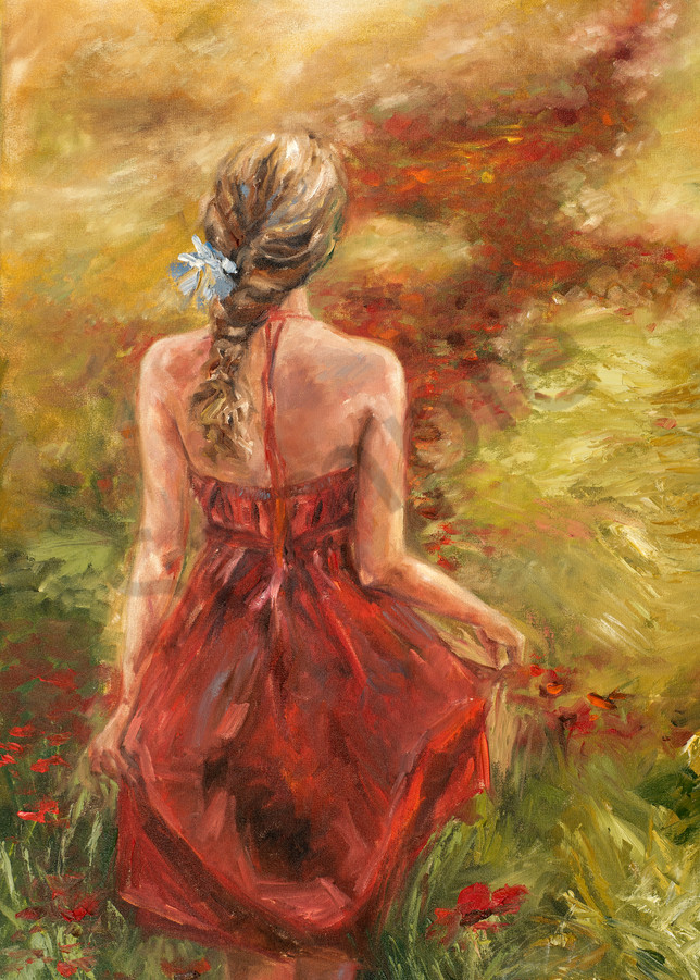 """""""Trail Of Hope"""" by South African Artist Ronel Eksteen 
