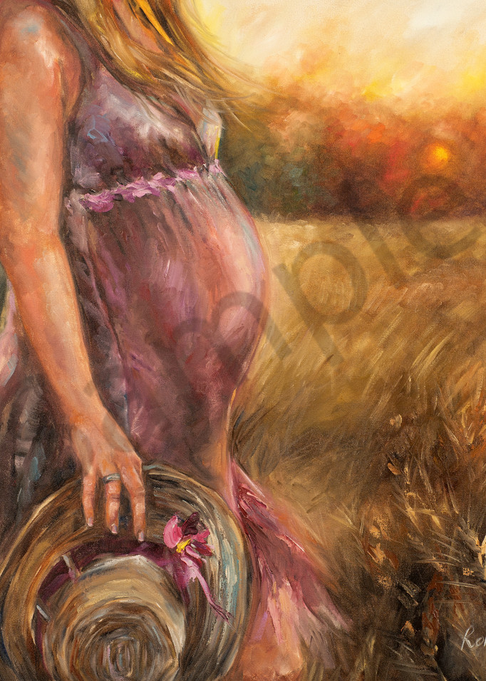 """""""Expectant"""" by South African Artist Ronel Eksteen 