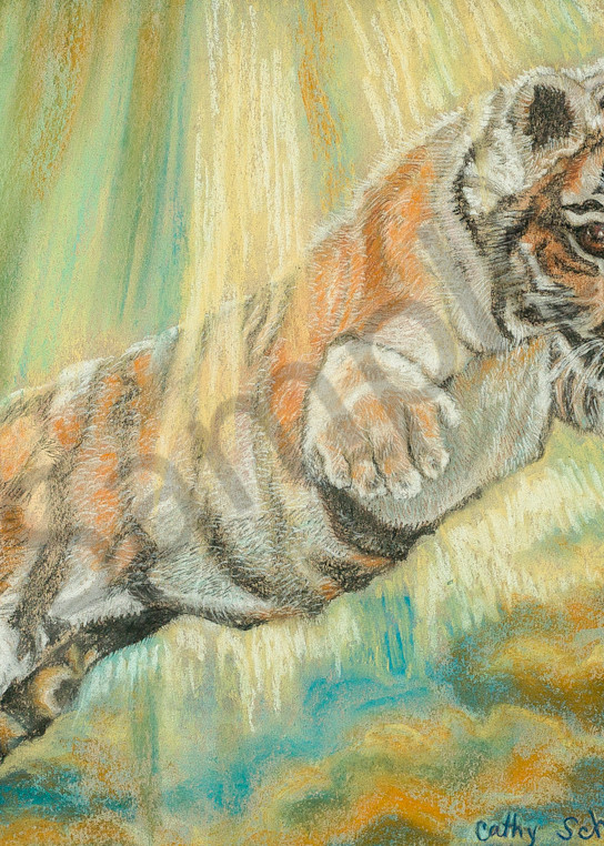 """""""A Leap Of Faith"""" by Ohio Artist Cathy Schock 