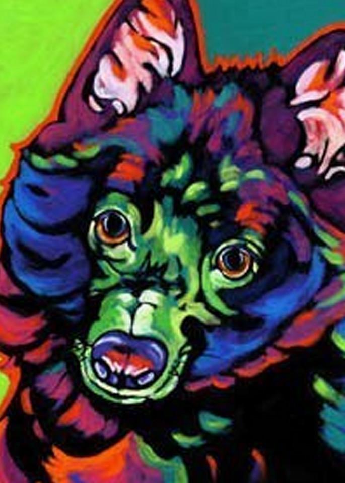 Pepper In Green Art | Sally C. Evans Fine Art