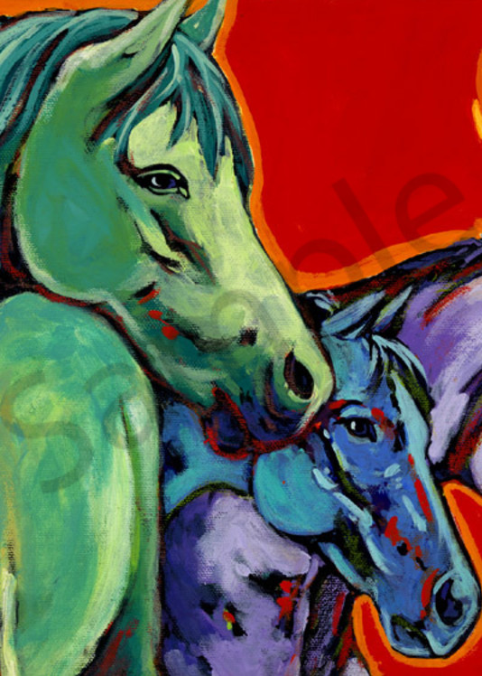 One Of Every Color Art   Sally C. Evans Fine Art