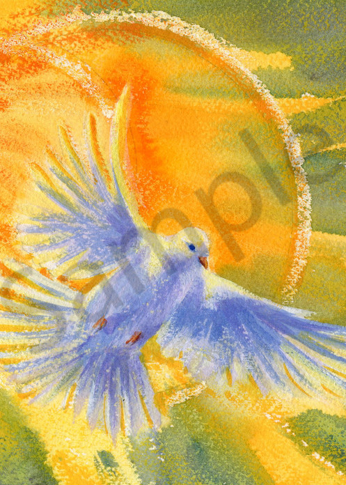 """Holy Spirit Conversion"" by Jean Pierre DeBernay | Prophetics Gallery"