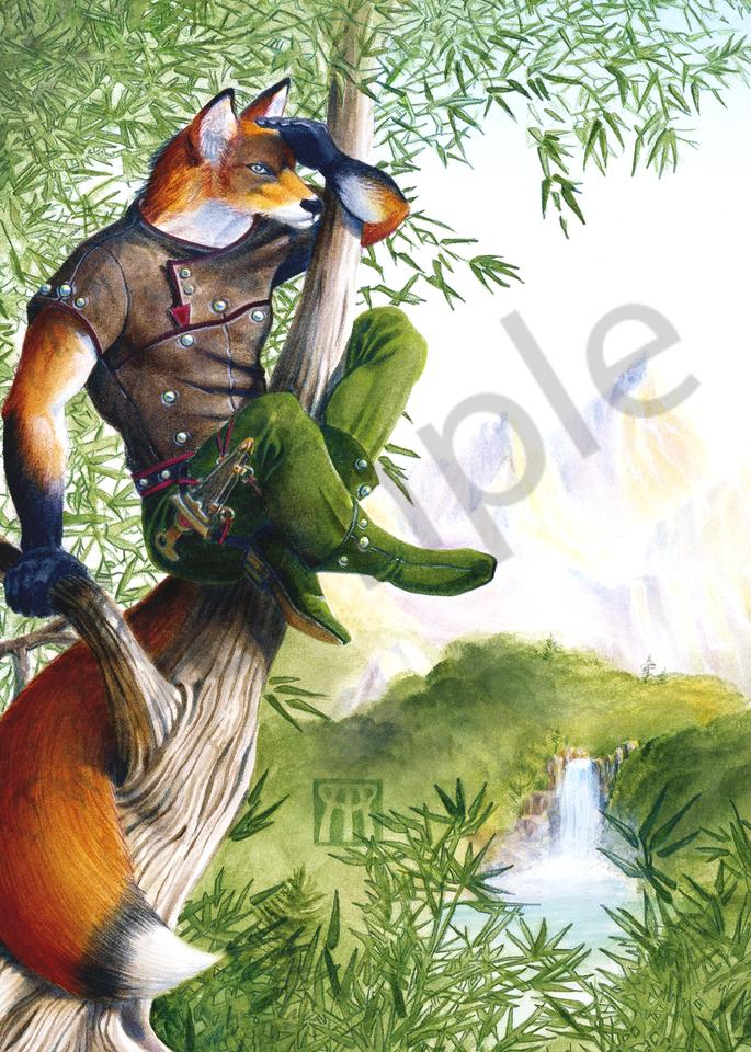 Trail Blazing Fox