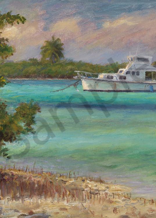 Chef's Boat Art   Sally C. Evans Fine Art