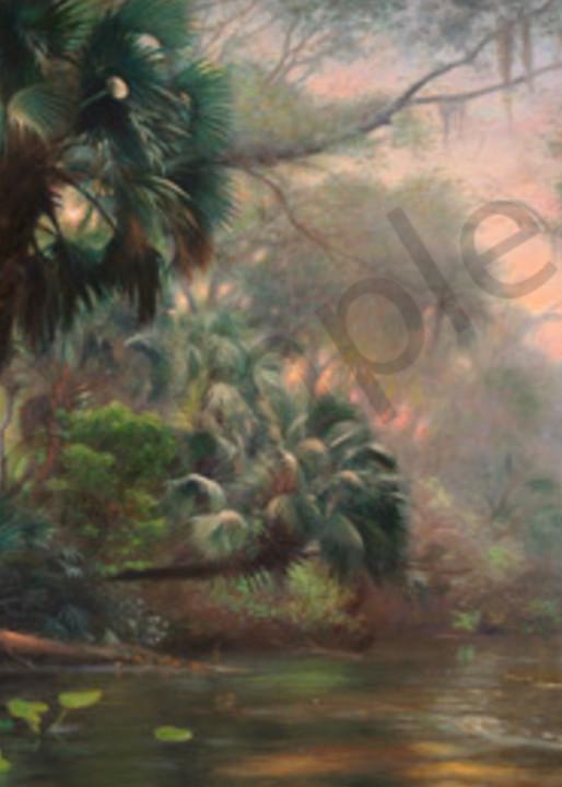 Wekiva Palms Art | Sally C. Evans Fine Art