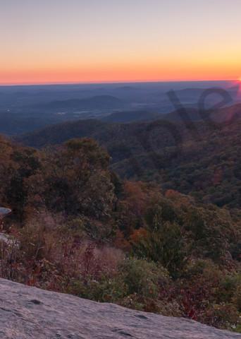 Mountain Wall Art: Shenandoah Sunrise