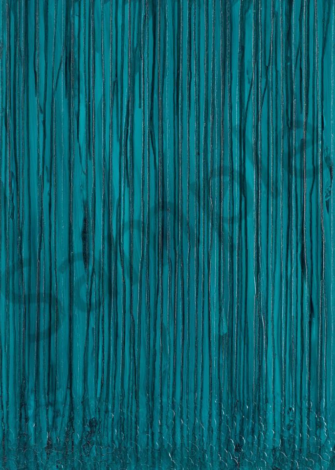 Teal Meditations Art | Mark Vantress Studios