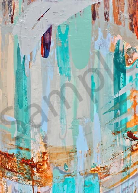Color Stream | Abstract Acrylic Mixed Media | Gordon Meggison IV