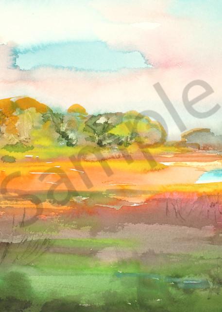 Longshadows of Evenings | Watercolor Landscapes | Gordon Meggison IV