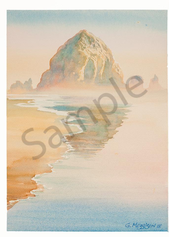 Haystack on Morning | Zen Landscapes | Gordon Meggison IV