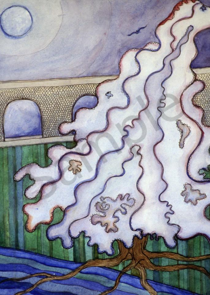 Ixchell Moonlight River Art   courtnihale