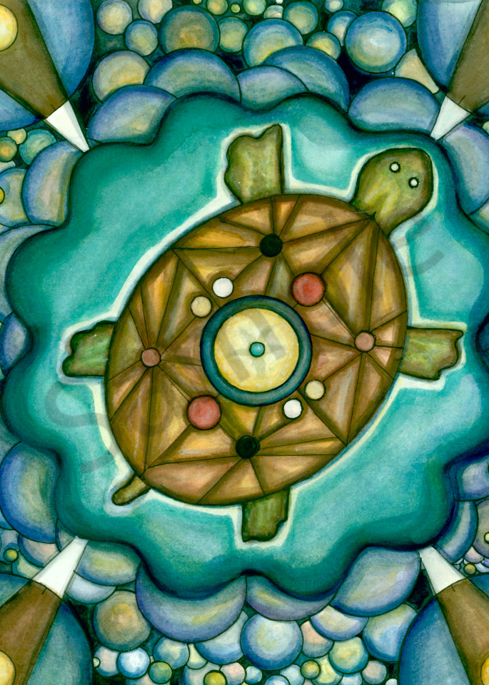 Turtle Island Art | courtnihale