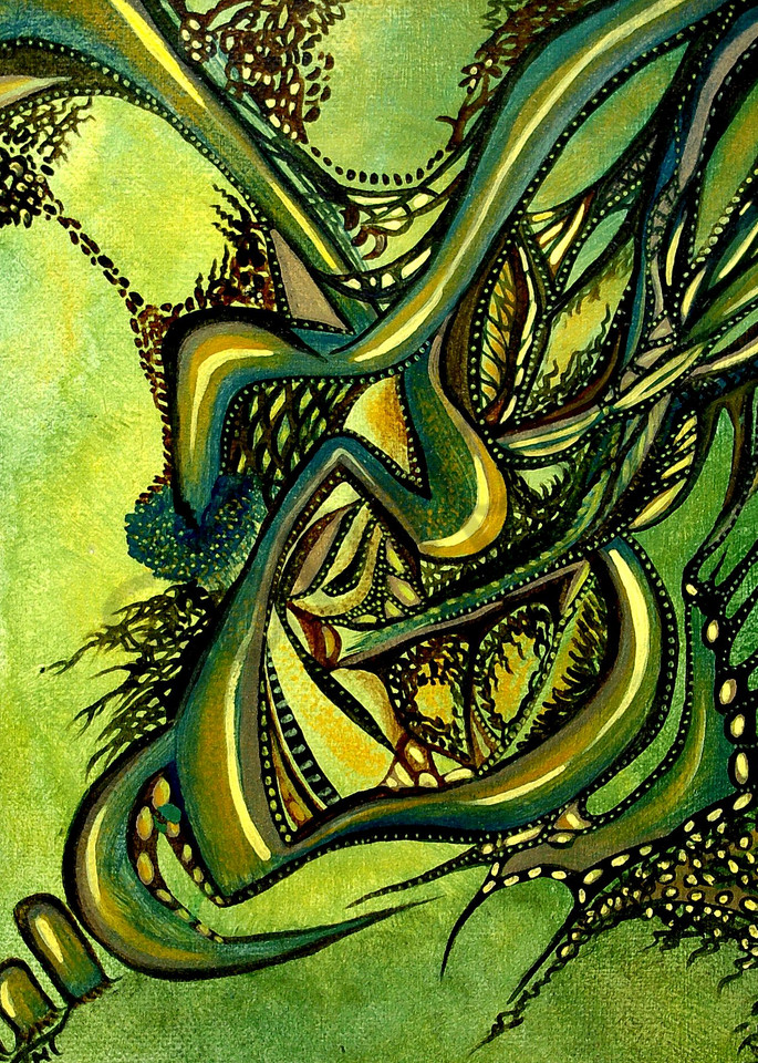 native art, aboriginal art, spiritual art, forest art