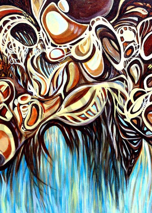 abstract, organic, nature art