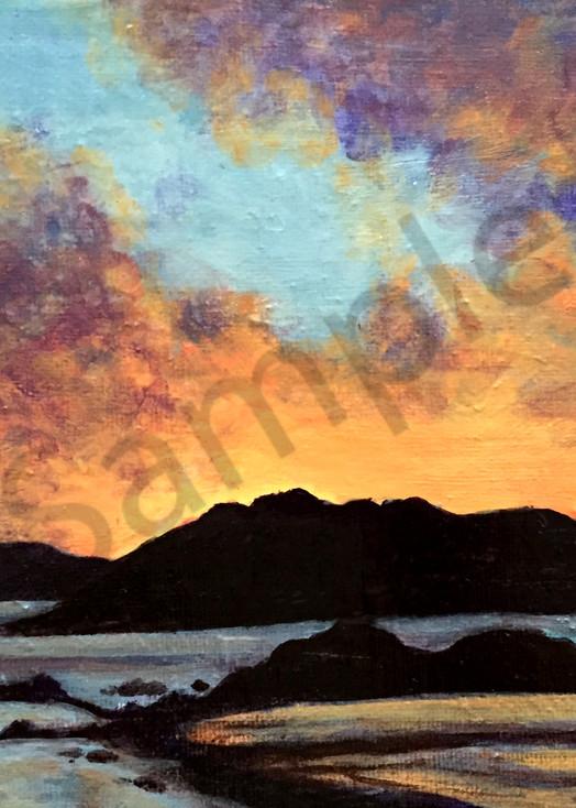 Surrealistic Reflections - Sunset Shore