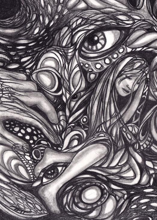 Surrealistic Reflections - Dreams of Lothlorien fine art print