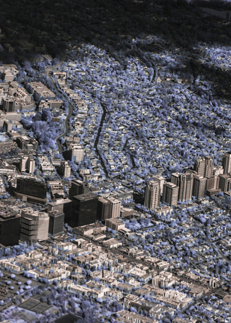 Los Angeles, Aerial, Downtown, Close-up