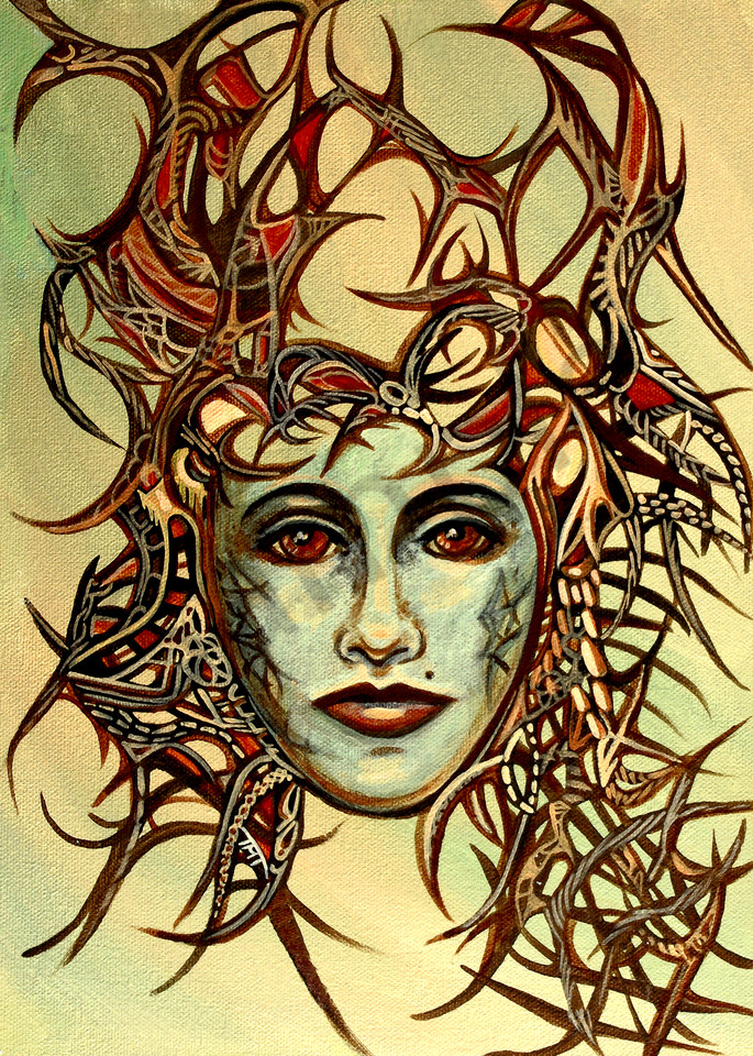 Surrealistic Reflections - Queen of Thorns