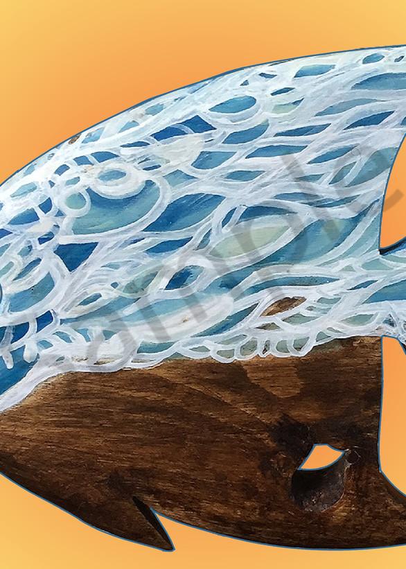 Blue Wave Angelfish - Teresa Young