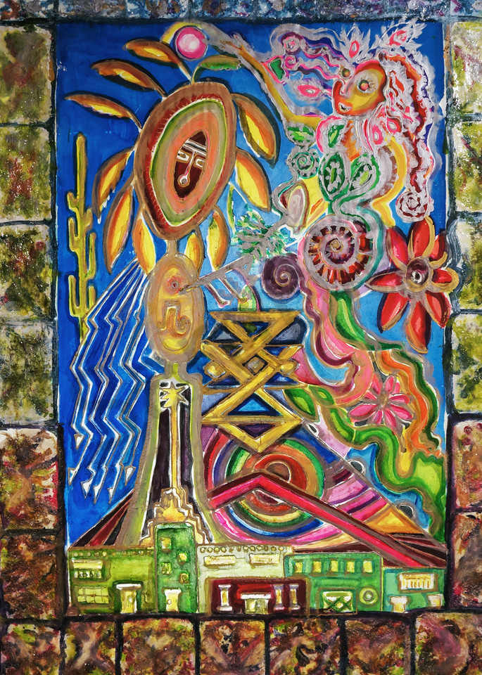 Return of the Goddess Painting Fine Art Print on Canvas Paper Metal Frames and More