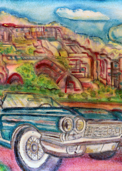 Get Your Kicks on Route 66 Print on Canvas or Paper