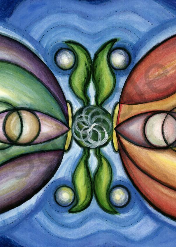 Eye of God Opening Art Print