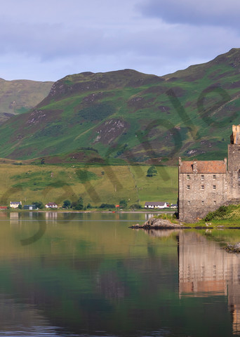 Mountain Wall Art: Eilean Donan Reflections