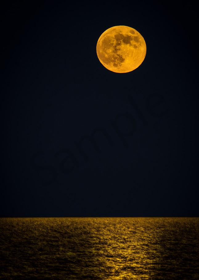 Harvest Moon Photography Art | John Martell Photography