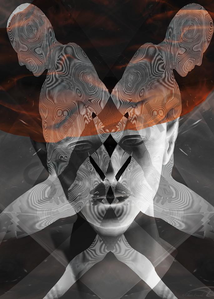 Held Back digital art by Cheri Freund