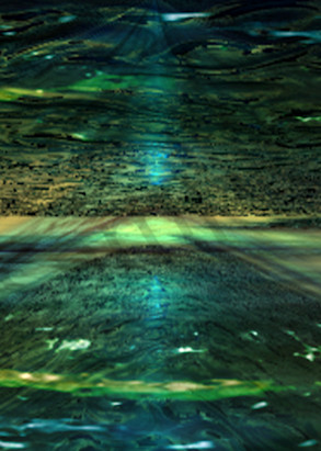 CinaSea Sci-Fi digital art by Cheri Freund