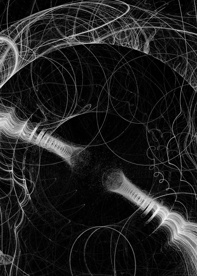 Disconnected digital art by Cheri Freund