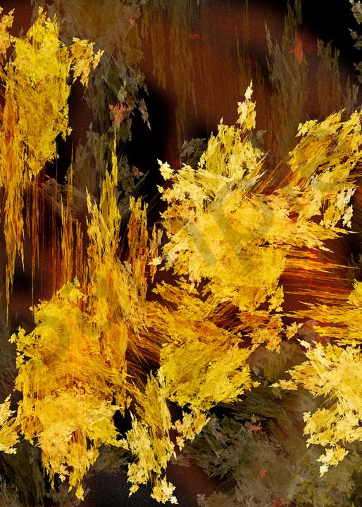 Gold Rush digital art by Cheri Freund