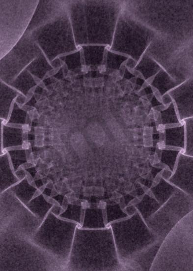 Silky Crystal Plum digital art by Cheri Freund