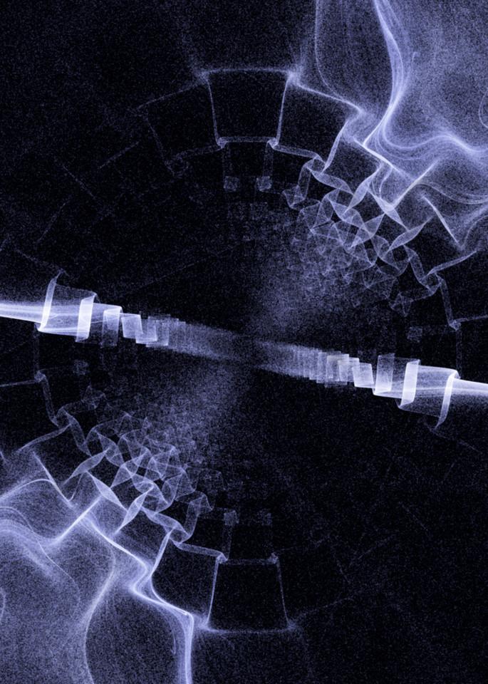 Inner Dimension fractured digital art by Cheri Freund