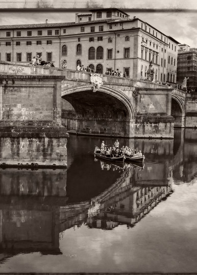 Old Florence along the Arno - Fine Art Wall Prints - JP Sullivan Photogrpahy