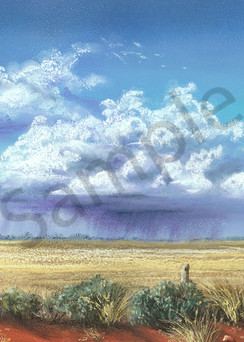 Isolated Storms by Jenny Greentree