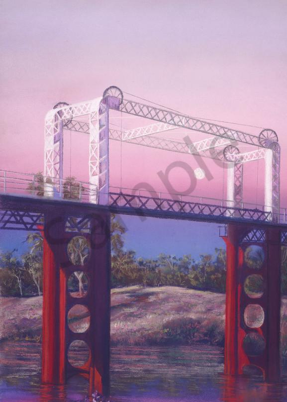 Bourke - A Vision Splendid, Violet by Jenny Greentree