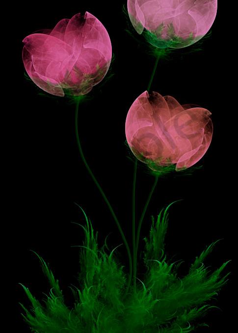 Paper Flowers digital art by Cheri Freund