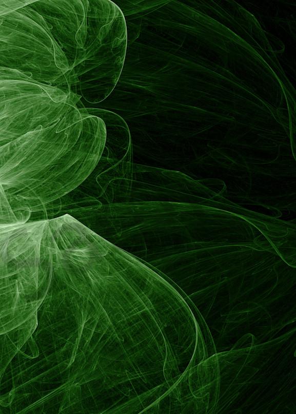 Into The Green digital art by Cheri Freund